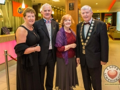 Colette and David Sheahan, Michael Hourigan, Mayor for Metropolitan District of Limerick and his wife Pat Hourigan. Picture Cian Reinhardt/ilovelimerick