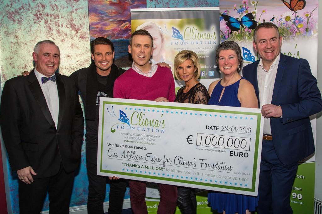 Clionas Foundation celebrate