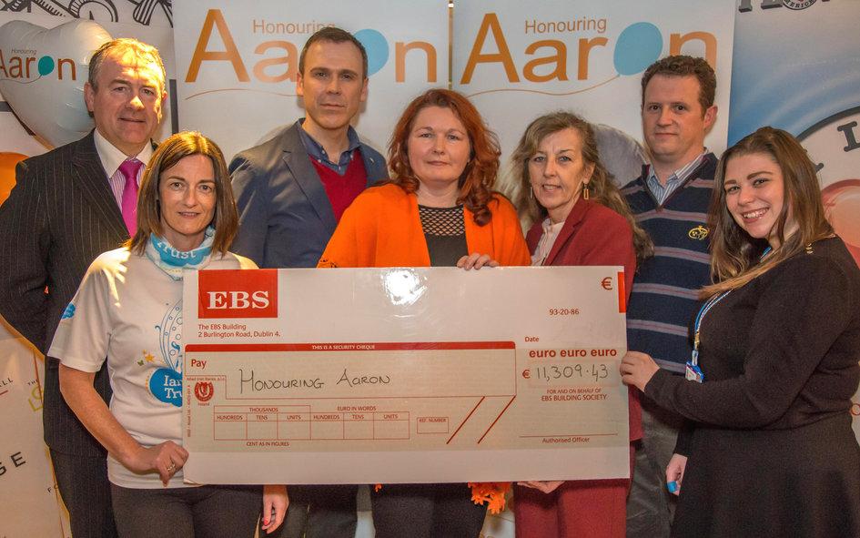 Honouring Aaron supporting childrens charities because children matter
