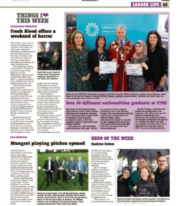 The Leader Column 30 October 2019